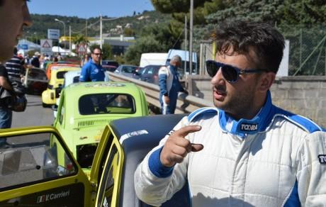 Valerio Carrieri, collaboratore, pilota e amico del team pezzolla
