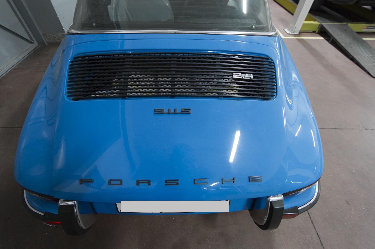 Porsche Targa 911 S epoca 5
