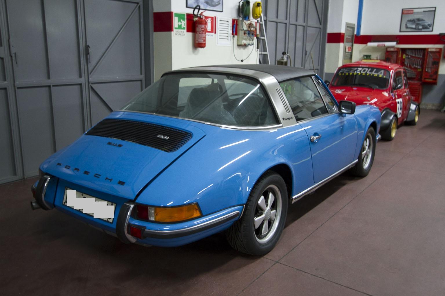 Porsche Targa 911 S epoca 6